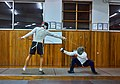 Epee fencers Aris Koutsouflakis (left) and Alexandros Kanellis (right).jpg
