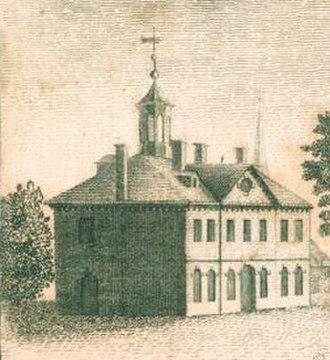Episcopal Academy - Episcopal Academy in Philadelphia, Circa 1790