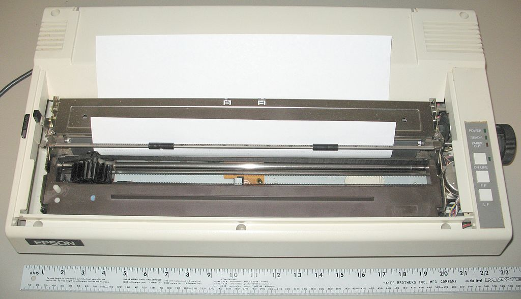 file epson wide carriage 9 pin printer with legal paper 8 5x14 jpg