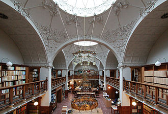 Danish National Business Archives - The Great Hall in former building.
