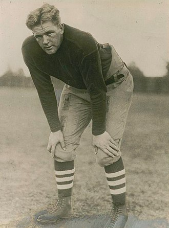 Stanford Cardinal football - Warner called Ernie Nevers (pictured) his greatest player.