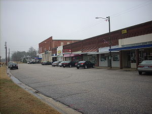 Erwin Commercial Historic District - East H Street