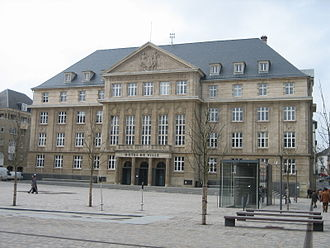 Esch-sur-Alzette - The town hall