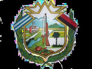 Calixto García, Cuba - Image: Escudo municipio calixtogarcia