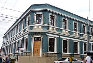 "Heredia, Costa Rica - Cultural centre ""Escuela República de Argentina"""