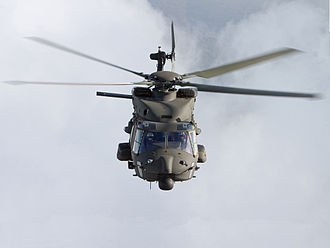 Structure of the Italian Army - An NH90 Helicopter of the Italian Army