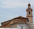 Església de sant Vicent màrtir de Benimàmet per darrere.JPG