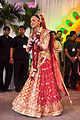 Esha Deol at Esha Deol's wedding at ISCKON temple 03.jpg