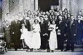 Eskűvői fotó, 1946 Budapest Fortepan 104705.jpg