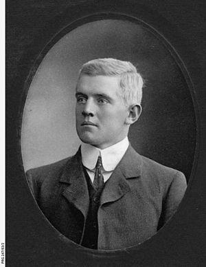Essington Lewis - Essington Lewis (circa 1900) (State Library of South Australia collection)