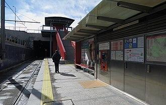 Montepríncipe (Madrid Metro) - Image: Estación de Montepríncipe