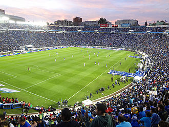 2017–18 Liga MX season - Image: Estadio Azul 15