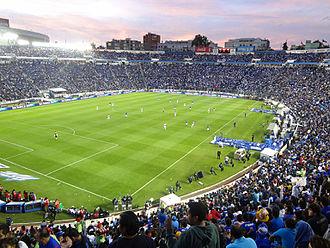 2015–16 Liga MX season - Image: Estadio Azul 15