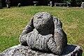 Estatuária no jardim do Museu Arqueológico na Sociedade Martins Sarmento 01.jpg