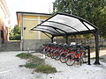 Este train station, bike sharing.jpg