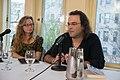 European Voices A Reading & Conversation with Christos Ikonomou and Karen Emmerich (25961026124).jpg