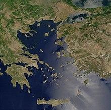 Det Aegaeiske Hav Wikipedia Den Frie Encyklopaedi