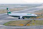 Eva Airways, BR130, Airbus A321-211, B-16209, Arrived from Taipei, Kansai Airport (17195745152).jpg