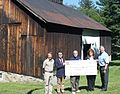 Evergreen Heritage Center, giant check (20979410323).jpg