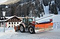 Every day removing snow from the roads and dosing gravel against slippery conditions. Perfect work at Gries - panoramio.jpg