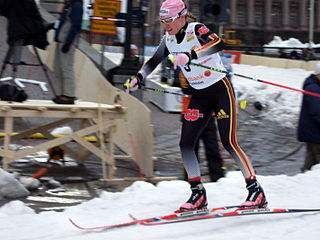Evi Sachenbacher-Stehle German cross-country skier and biathlete