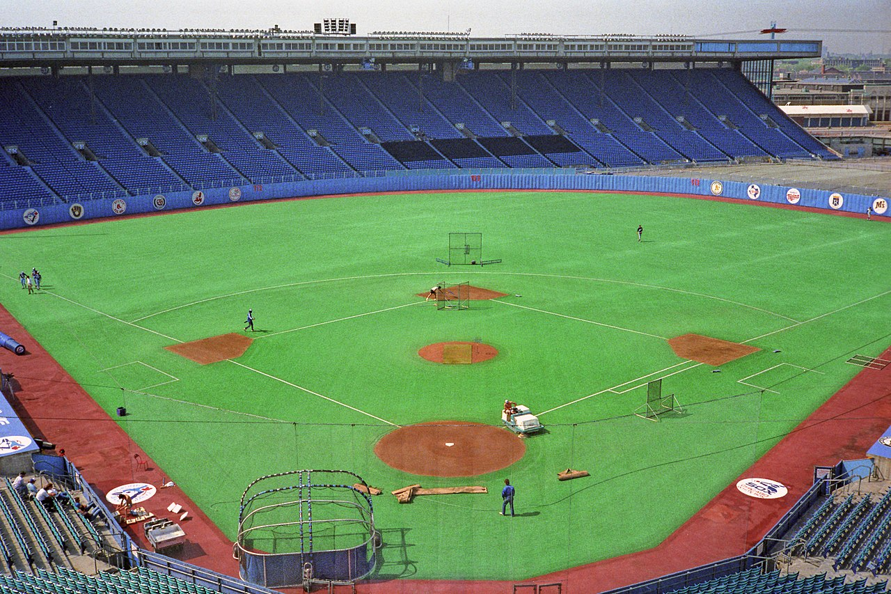 File Exhibition Stadium Before The Toronto Blue Jays Faced
