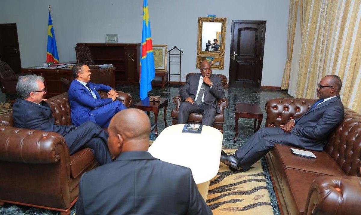 File Felix Tshisekedi Avec Nicolas Kazadi Et Luc Gerard Nyafe A La Cite De L Union Africaine Jpg Wikimedia Commons