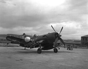 VMA-513 - A F4U-5N from VMF(N)-513 in 1950 during the Korean War.