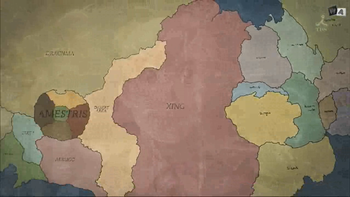 Full Metal Alchemist World Map.Geographie Du Monde De Fullmetal Alchemist Wikipedia
