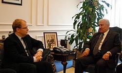 FM Urmas Paet met with the Prime Minister of Jordan Abdullah Ensour in Amman. 9.01.2013 (8364907805).jpg