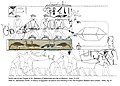 Facsimile Painting of Geese, Tomb of Nefermaat and Itet MET 31.6.8-Smith-drawing.jpg