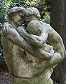 Familie mit Kind 1, von Henri Boncquet, Malkasten Park, Düsseldorf.JPG