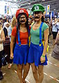 Fan Expo 2014 - Mario and Luigi (15137892645).jpg