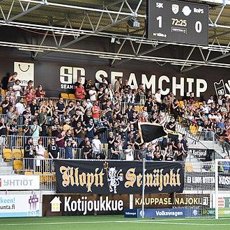 Seinäjoen Jalkapallokerho - SJK supporters.