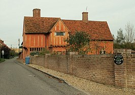 Farmhouse at Bridge Farm, Ash Street, Suffolk - geograph.org.uk - 276653.jpg