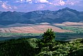 Farmland and Mountains, John Day Valley, Malheur National Forest (36169541352).jpg