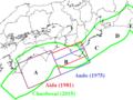 Fault models of 1854 Ansei-Nankai-earthquake.png