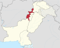 Federally Administered Tribal Areas in Pakistan (claims hatched).svg