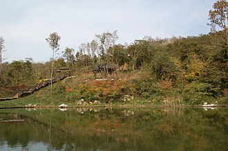 Qixia Mountain - Maple Hill Lake, located within the area