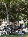 Feria cliclista - Santiago de Chile - Barrio Bellavista.JPG