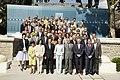 Fernández de la Vega se reune con el ministro del Interior, los delegados y subdelegados del Gobierno para coordinar el Plan Verano. Pool Moncloa. 15 de julio de 2008.jpeg