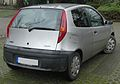 Fiat Punto II (1999–2003) rear MJ.JPG