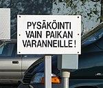 Co to znaczy? To tylko jedno miejsce parkingowe!