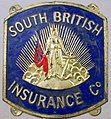 Fire Mark of The South British Insurance Company, Limited, in Auckland, New Zealand.jpg