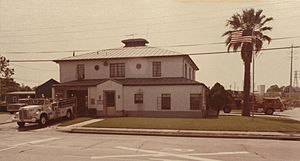 Inwood Forest, Houston - Fire Station 4, 1976
