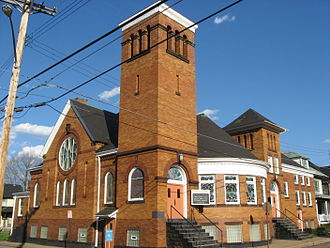 Beaver, Pennsylvania - First Christian Church, a part of the district