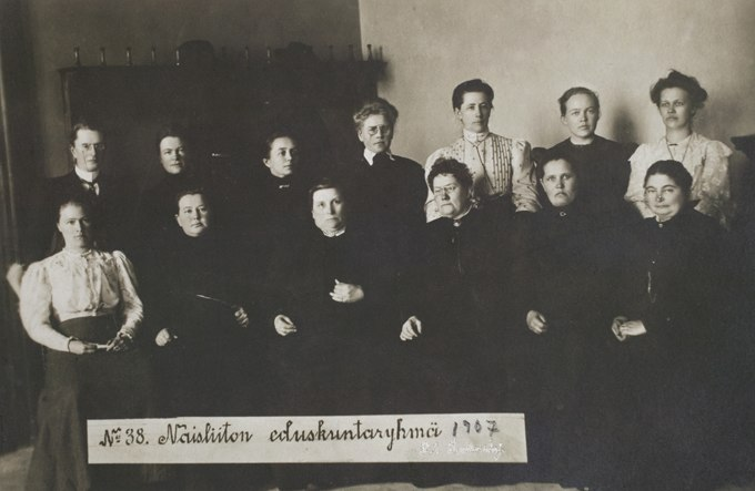 First Female Parliamentarians in the world in Finland in 1907