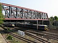 First Great Western trains near Old Oak Common (geograph 2387650).jpg