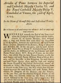Peace of Vienna (1725)