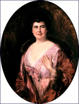 Edith Wilson - Wilson's official White House portrait